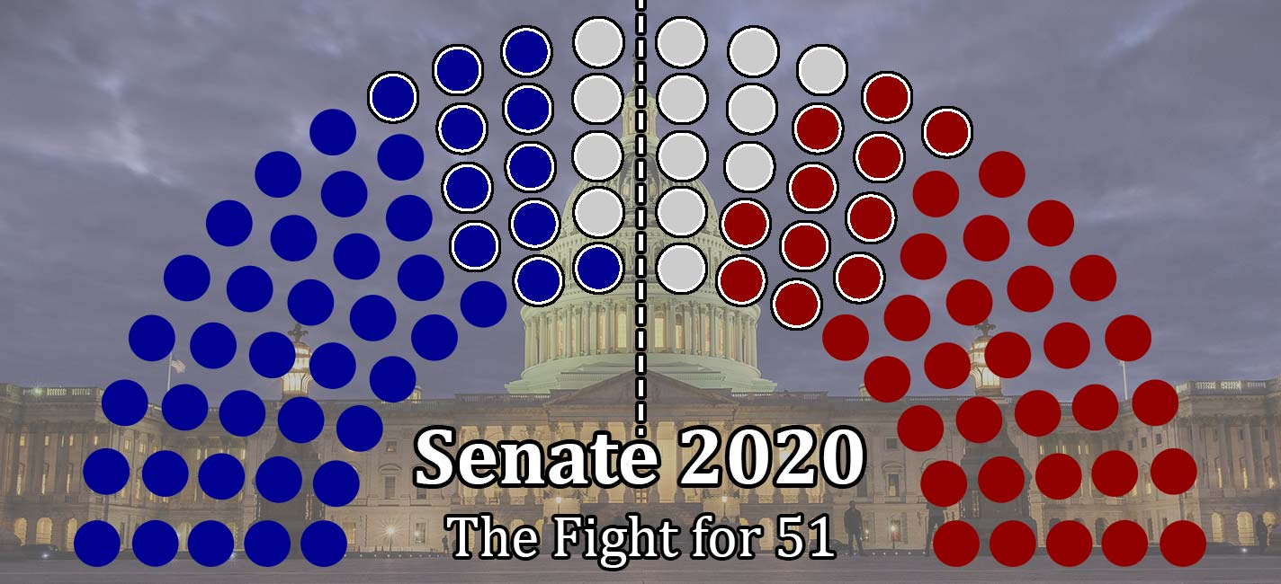 Senate 2020 Elections Analysis - Fight for 51